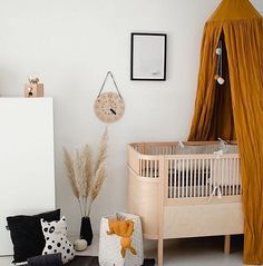 Linen Canopy Caramel Kids Room for Dreamer