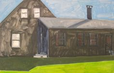 THE BLACK HOUSE AT VAN CAMPEN'S