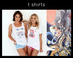 You can also order some of your favorite art on graphic tees! artistspot.org