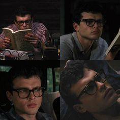 Alden Ehrenreich in glasses, is like hot.