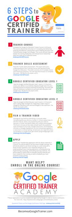 Wondering how to become a Google Certified Trainer? Here's how to do it in 6 easy steps! Free Teaching Resources, Teacher Resources, School Resources, Teaching Ideas, High School Classroom, Flipped Classroom, Google Teacher, Certified Trainer, Google Classroom