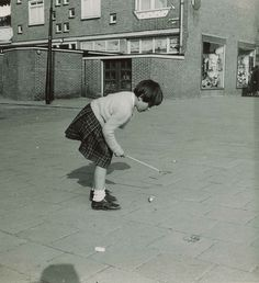 Children back in they day played a lot with a spinner.  The Netherlands.