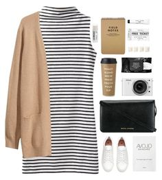 janine by francinegloriana on Polyvore featuring H&M, Marc Jacobs, Toast, Bobbi Brown Cosmetics, Kat Von D, Kate Spade, Shabby Chic and Nikon
