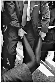 """Arrest at Federal Building"" by Charles Brittin, 1965."