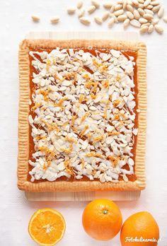 Almond shortbread with Orange Jam, called Mazurek - traditional Polish Easter Cake Orange Jam, Polish Easter, Sweet Pie, 20 Min, Shortbread, Tea Time, Almond, Treats, Traditional
