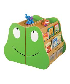 Take a look at this Frog Storage Bookshelf on zulily today!