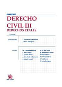 Derecho civil. III, (Derechos reales).     4ª ed.    Tirant lo Blanch, 2015