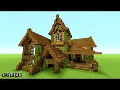 MINECRAFT: How To build A survival House   Best survival House 2016 -2017 ( Hd ) Tutorial - YouTube