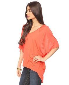 Orange hi low top