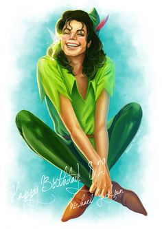 Michael Jackson as Peter Pan