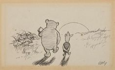 """If you live to be a hundred, I want to live to be a hundred minus one day so I never have to live without you.""  ― A.A. Milne, Winnie-the-Pooh"