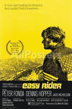 Easy Rider People Poster - 61 x 91 cm