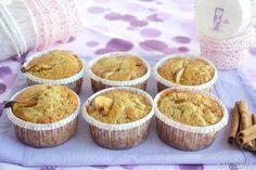 Muffin mele e cannella, scopri la ricetta: http://www.misya.info/2009/01/20/muffin-mele-e-cannella.htm
