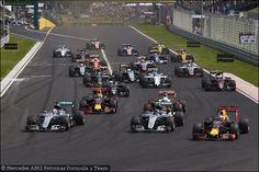 GP Ungheria, Gara: Hamilton purga Rosberg ed è nuovo leader della F1