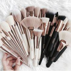 hübsche Make-up Pinsel - Make-up Pinsel - - Makeup Tips Color Correcting Makeup Goals, Makeup Inspo, Makeup Inspiration, Makeup Blog, Cute Makeup, Pretty Makeup, Elf Makeup, Cheap Makeup, Makeup Geek