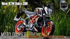 Moto Diaries #1 | New KTM Duke 390 |  Moto Vlog  | Parsi da Dhaba | Brea...