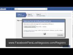 http://FacebookparalosNegocios.com/registro Como crear una pagina de empresa o negocio en Facebook