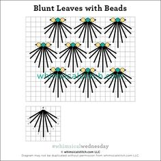 #whimsicalwednesday blog — whimsicalstitch.com Needlepoint Designs, Needlepoint Stitches, Needlework, Flower Embroidery Designs, Beaded Embroidery, Embroidery Stitches, Bugle Beads, Straight Stitch, Beading Projects
