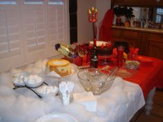 Creative Party Ideas by Cheryl: Angel Devil Party