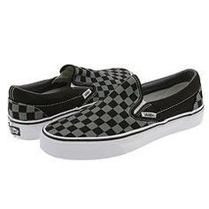 f79dfeda928 Vans classic slip on checkerboard dark purple black