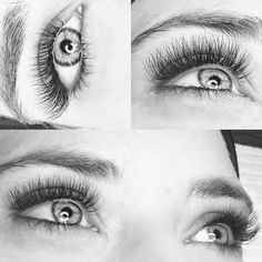 Eyelash Extensions by Isobel at @ilash_beauty_noosa using premade volume fans by MYSTIQ | Luxe Lash Supplies