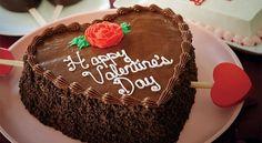 """Σοκολατένια τούρτα """"καρδιά"""" Valentines Day, Favorite Recipes, Sweets, Chocolate, Dinner, Cake, Desserts, Food, Hearts"""
