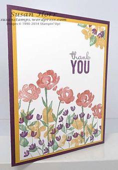 Painted Petals, Stampin Up, susanstamps.wordpress.com