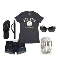 546c7df35bdc1 gray t-shirt outfit, Athletic Gym Tee from Tomboy Vintage - tomboy style,