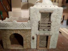 Navity Scene, Warhammer Terrain, Cement Art, Modelos 3d, Inspired Homes, Clay Art, Cribs, Egypt, Miniatures