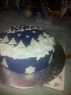 Xmas cake made 2014