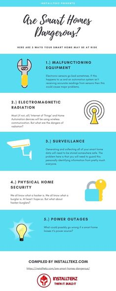 "If you're planning to build your very own home automation system then there are some safety concerns that you will need to think about and plan for. Don't be ""that guy/girl"" who gets caught off guard because you overlooked critical safety precautions. Iot Projects, Safety Precautions, Electromagnetic Radiation, Home Automation System, Guys And Girls, Smart Home, Own Home, Need To Know, Shit Happens"