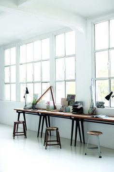 Krukjes van House Doctor met een koperen finish #copper #stool