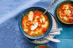 Kijk wat een lekker recept ik heb gevonden op Allerhande! Tunesische vissoep