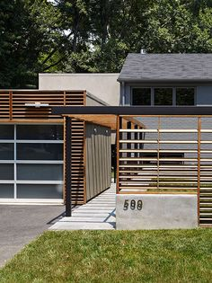 East Jefferson Residence contemporary exterior