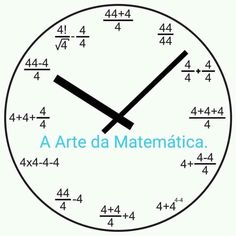 Mathematics – Clock World Math Jokes, Math Humor, Love Math, Fun Math, Math Formula Chart, Math Clock, Mathematics Geometry, Math Charts, Maths Solutions