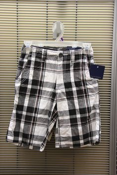 Plaid Shorts (available only in stores) Click image to see weekly ad #MeijerKidsLooks #BacktoSchool