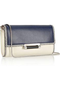Diane von Furstenberg Gracie lizard-effect leather shoulder bag