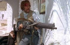 Tomas Milian in Companeros, inspiration for Durango