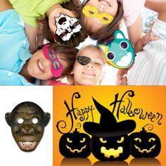 Feestmaskers voor Halloween. http://www.pascogifts.com/nl/promotiemateriaal/promotieartikelen/feestartikelen/maskers-en-sinterklaasmijters
