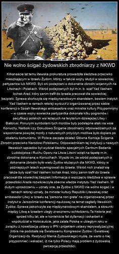Krótka historia o tym jak w Izraelu bronili Żydów z NKWD podejrzanych o dokonanie zbrodni na Polakach i Litwinach.