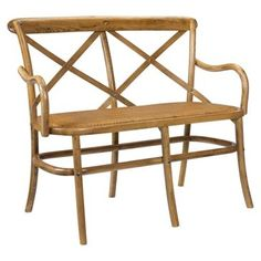 Check out this item at One Kings Lane! Bosquet Two-Seater Bench