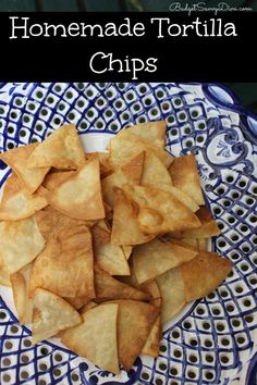 Make Tortilla Chips at Home in UNDER 5 minutes at a fraction of the cost!!! Gluten - Free