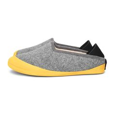 larvik light grey mahabis classic slipper with outdoor sole
