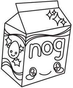 Kawaii Christmas - Eggnog_image