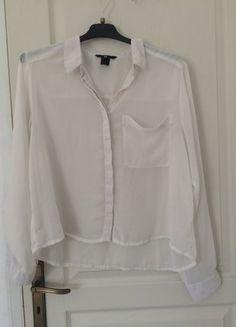 À vendre sur #vintedfrance ! http://www.vinted.fr/mode-femmes/blouses-and-chemises/32028981-chemise-blanche-h-m