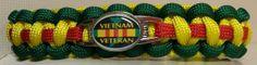 Vietnam Veteran Paracord Bracelet #Vietnam #VietnamVeteran