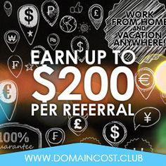Domain-Cost-Club und bis $200 verdienen pro Anmeldung http://www.domain-cost-club.net