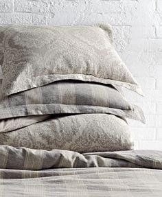 Pile on the pretty shams. HomeDecorators.com