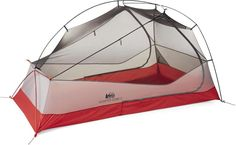 The completely redesigned REI Co-op Quarter Dome 2 tent's new architecture and rugged, lightweight materials make an easy-setup, easy-to-live-in backpacking tent sturdy enough for 3 seasons. Available at REI, Satisfaction Guaranteed. Best Backpacking Tent, Tent Camping, Camping Ideas, Glamping, Outdoor Life, Outdoor Gear, Ultralight Tent, Seattle Mist, Small Tent