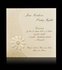 Svatební oznámení B 0102 Place Cards, Place Card Holders, Program, Card Wedding, Invitations, Gifts